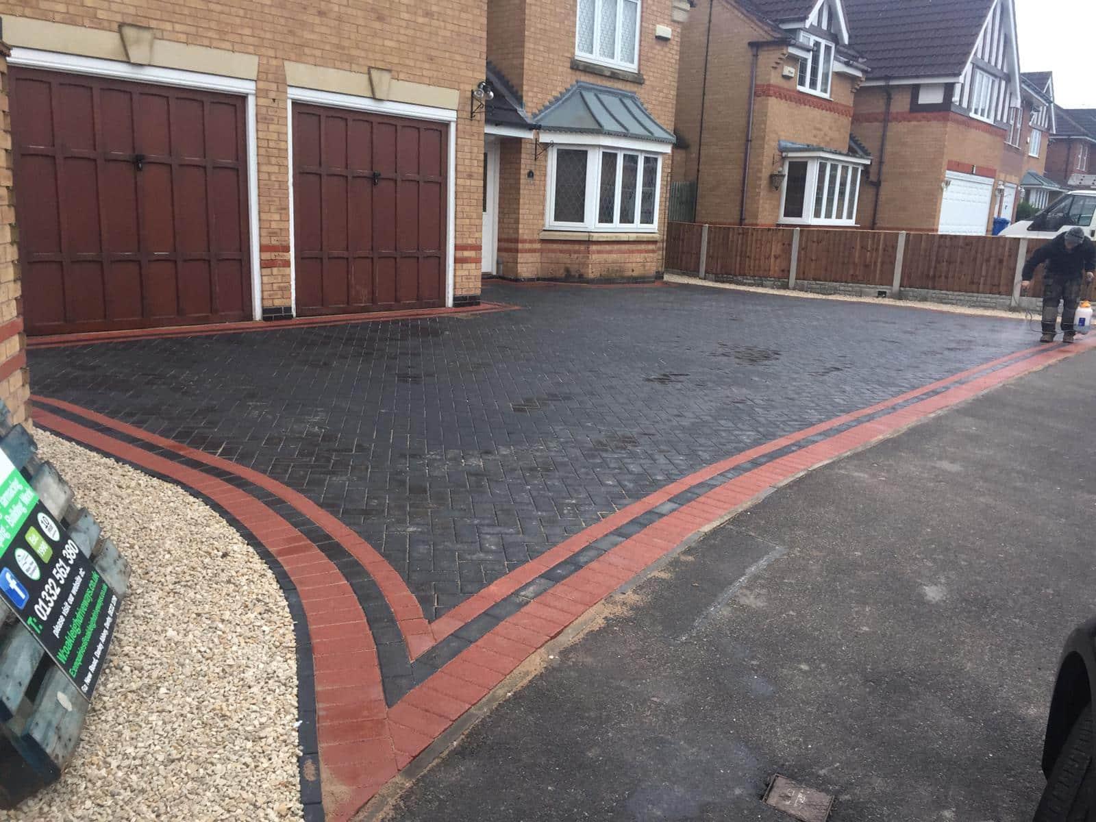 New Block Paving Driveway Chellaston, Derby