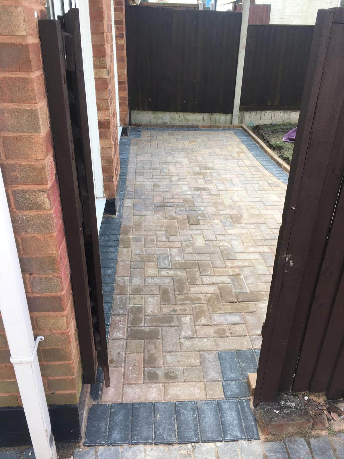 Block Paving Patio in Bedworth