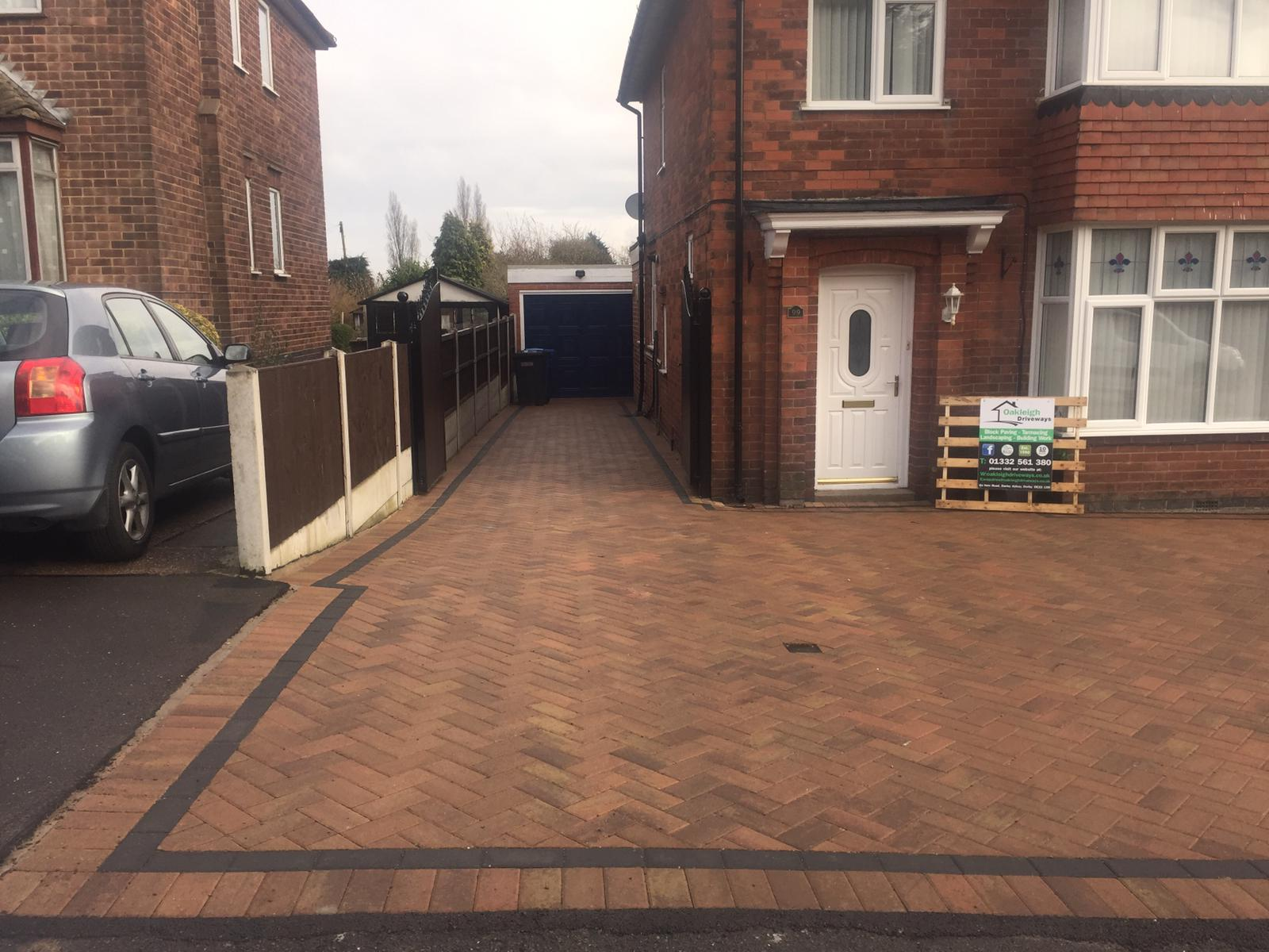 Block Paving Driveway, Littleover, Derby