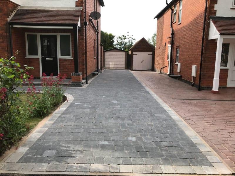 cobbled driveways