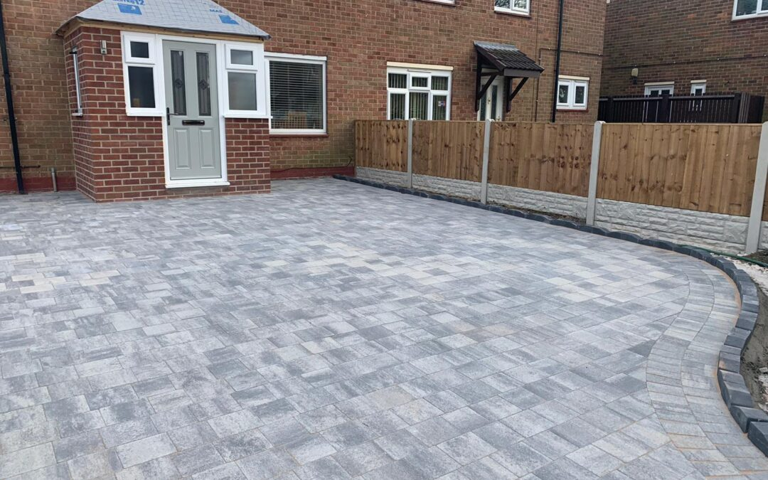 Driveway Transformation in Coleshill